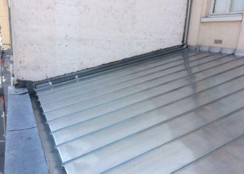 ecole - couverture zinc à joint debout