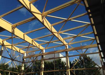 hangar - charpente lamelée collée hangar