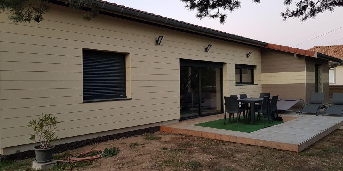 252f0d216c7 Construction d une maison complète en ossature bois sur la commune de  Montagny